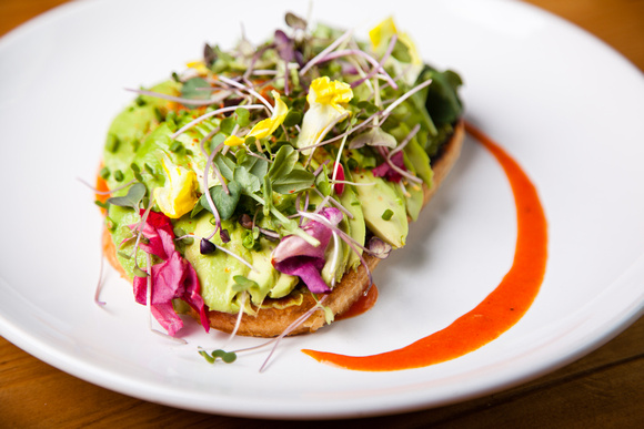 Avocado Toast, Avenue Kitchen and Bar, Baltimore